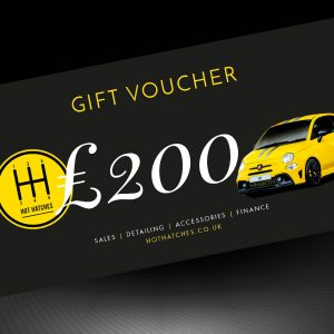 Hot Hatches Ltd Gift Voucher £200