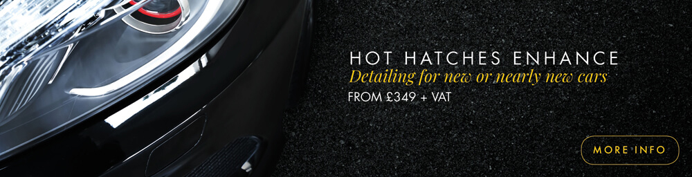 The Hot Hatches Enhance Car Detailing Package