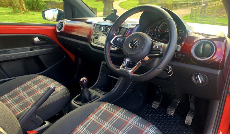 VW UP GTI 3 DOOR TORNADO RED full